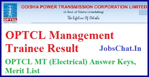 OPTCL Management Trainee Result