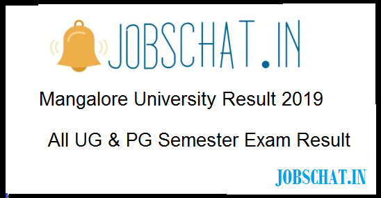 Mangalore University Result 2019