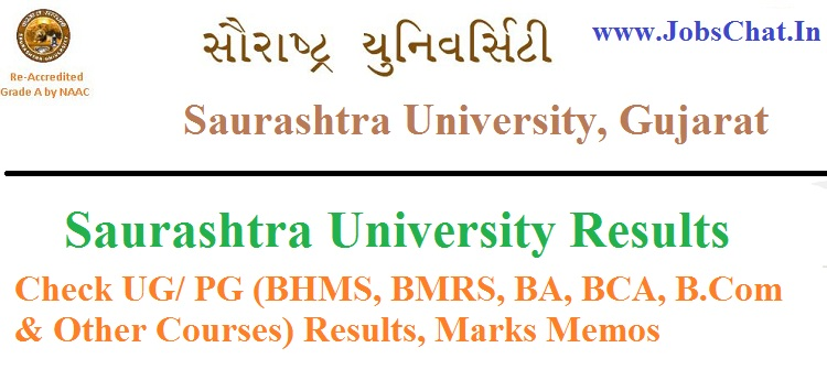 Saurashtra University Results