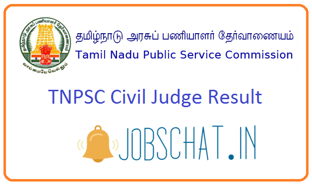 TNPSC Civil Judge Result