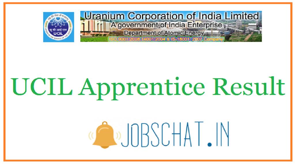 UCIL Apprentice Result
