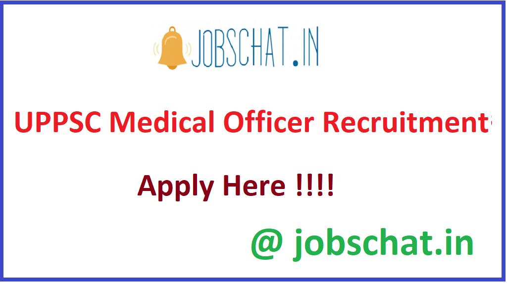 UPPSC Medical Officer Recruitment