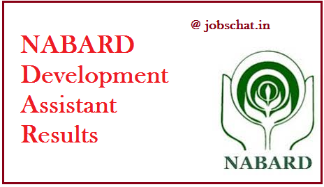NABARD Development Assistant Results