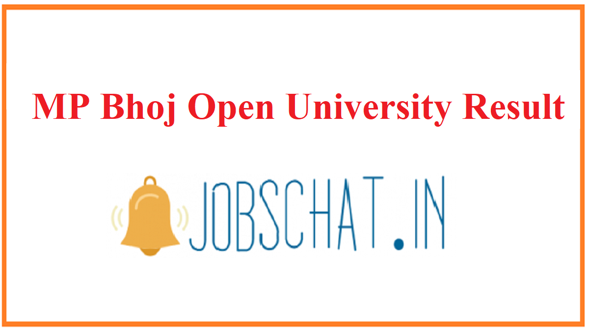 MP Bhoj Open University Result