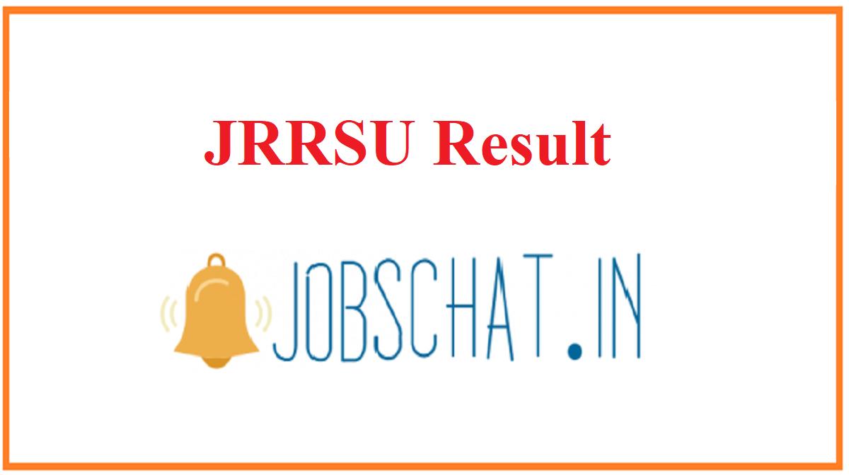 JRRSU Result