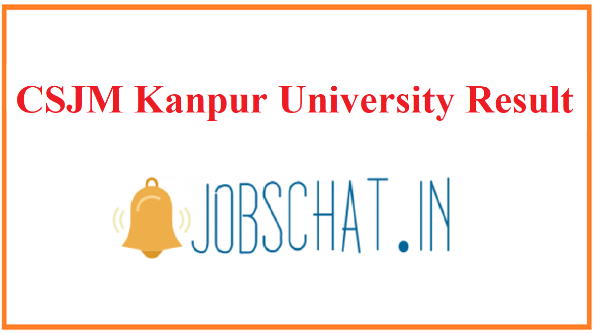 CSJM Kanpur University Result