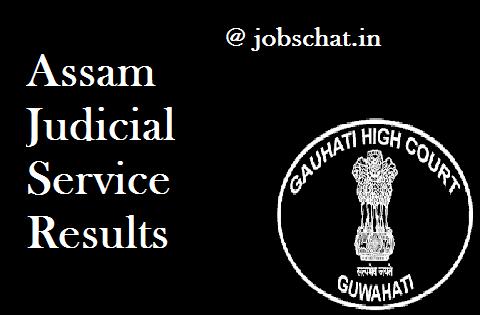 Assam Judicial Service Results