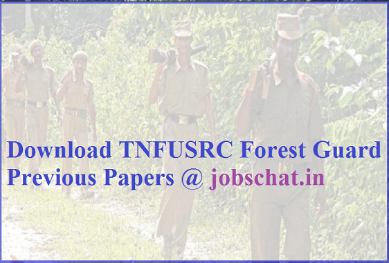TNFUSRC Forest Guard Previous Papers