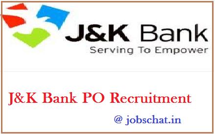 JK Bank PO Recruitment