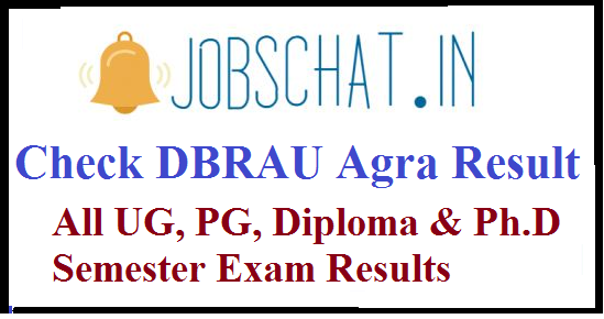 DBRAU Agra Result
