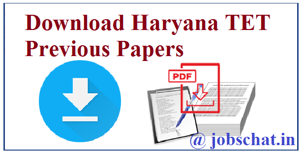 Haryana TET Previous Papers