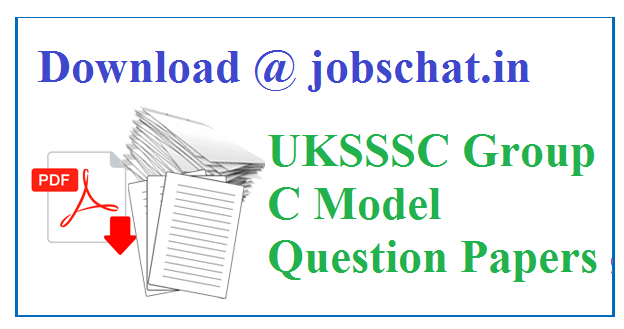 UKSSSC Group C Previous Papers