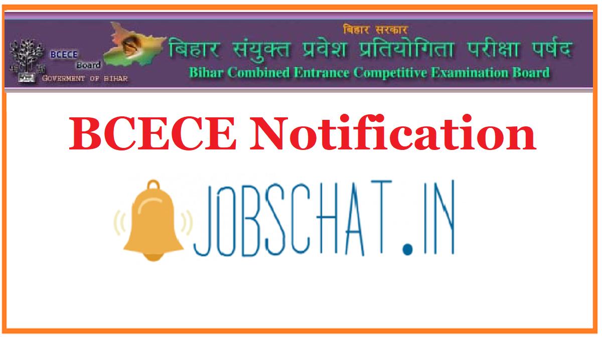 BCECE Notification