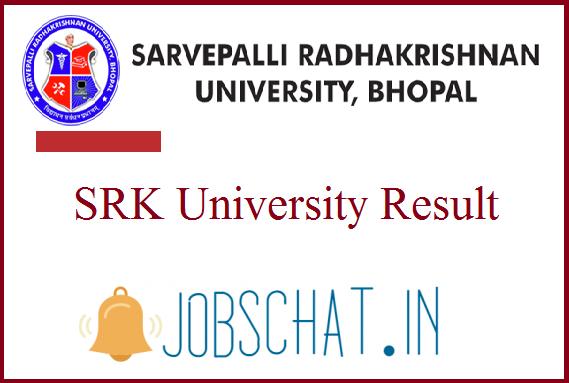 SRK University Result