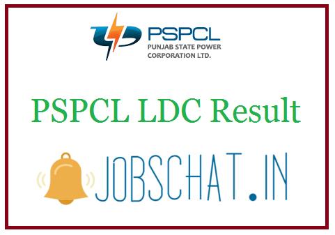 PSPCL LDC Result