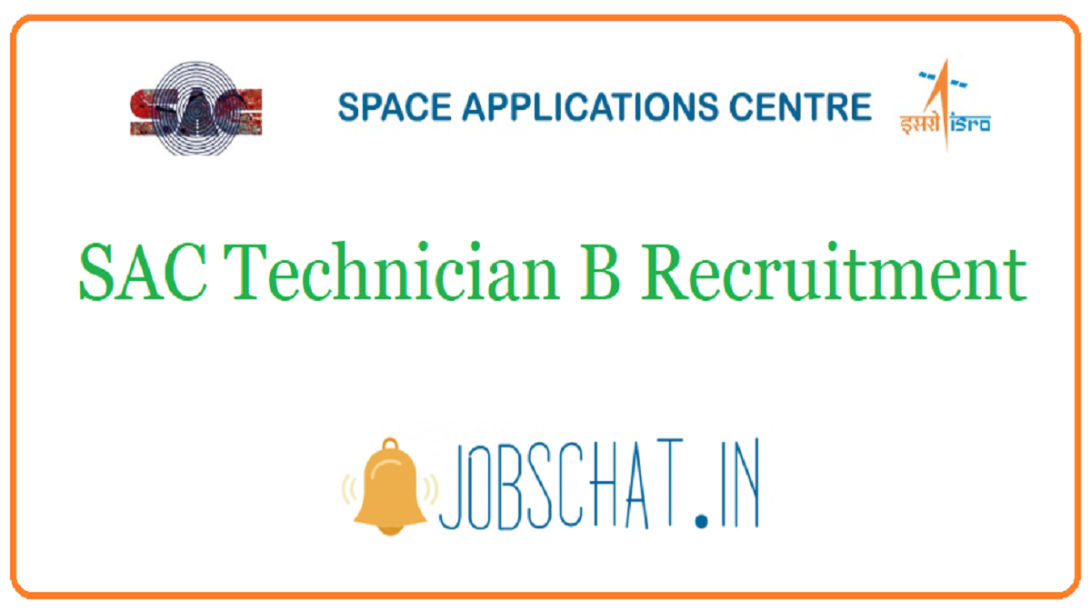SAC Technician B Recruitment