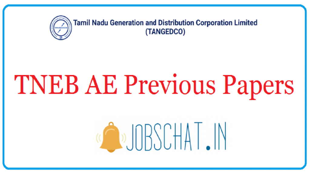 TNEB AE Previous Papers