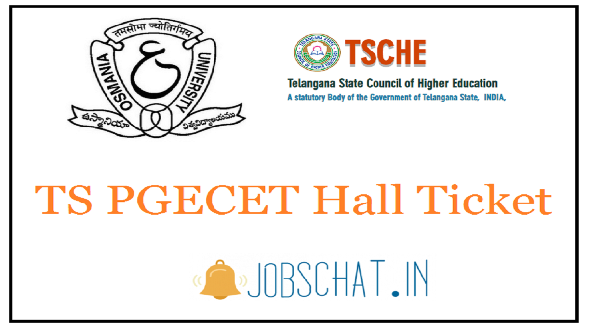 TS PGECET Hall Ticket