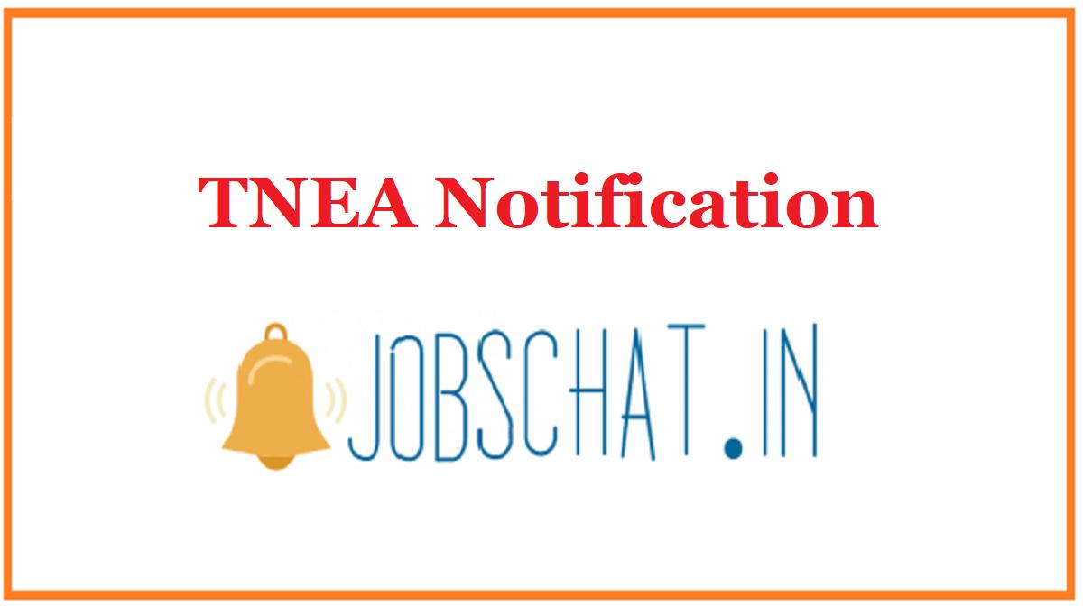 TNEA Notification
