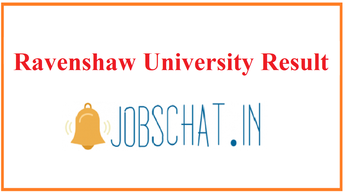 Ravenshaw University Result