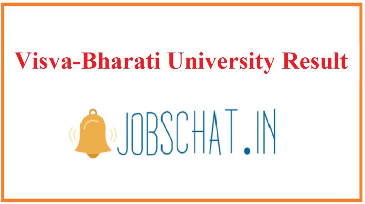 Visva-Bharati University Result