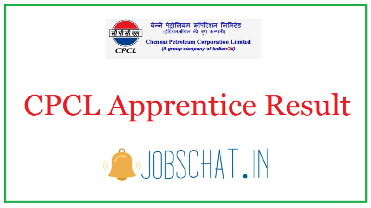 CPCL Apprentice Result