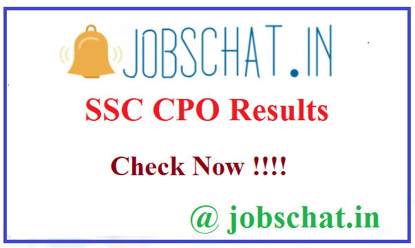 SSC CPO Results
