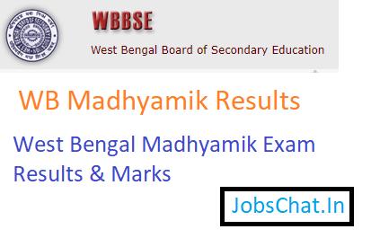 WB Madhyamik Results