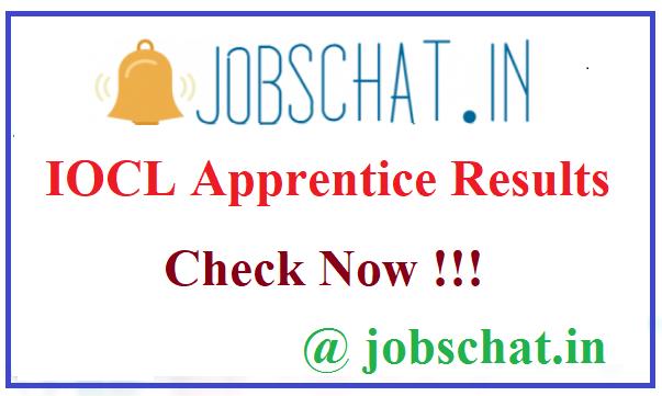 IOCL Apprentice Results