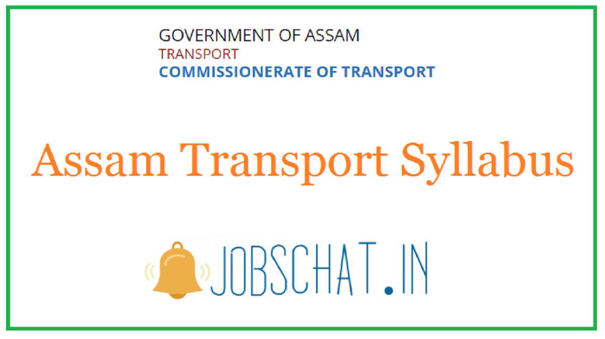 Assam Transport Syllabus