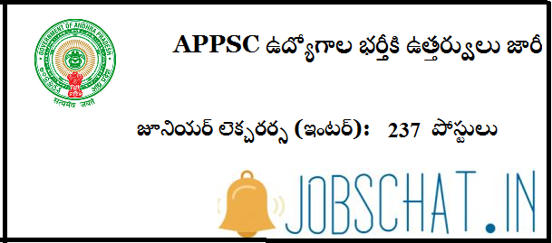 AP Junior Lecturer Notification