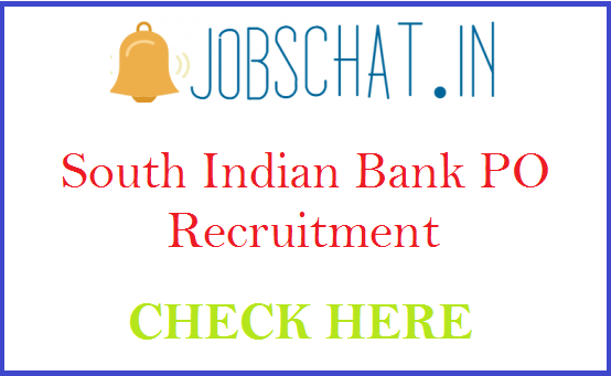 South Indian Bank PO Recruitment
