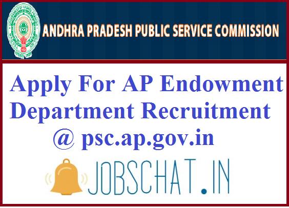 AP Endowment Department Recruitment