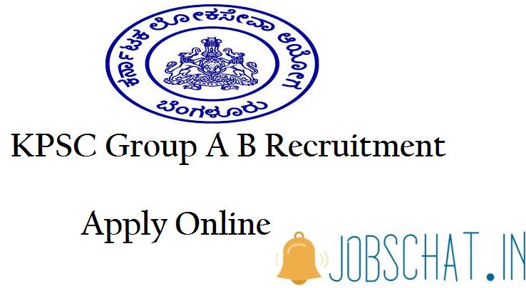 KPSC Group A & B Recruitment