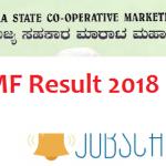 KSCMF Result 2018