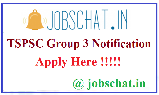 TSPSC Group 3 Notification