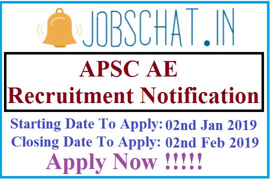 APSC AE Recruitment