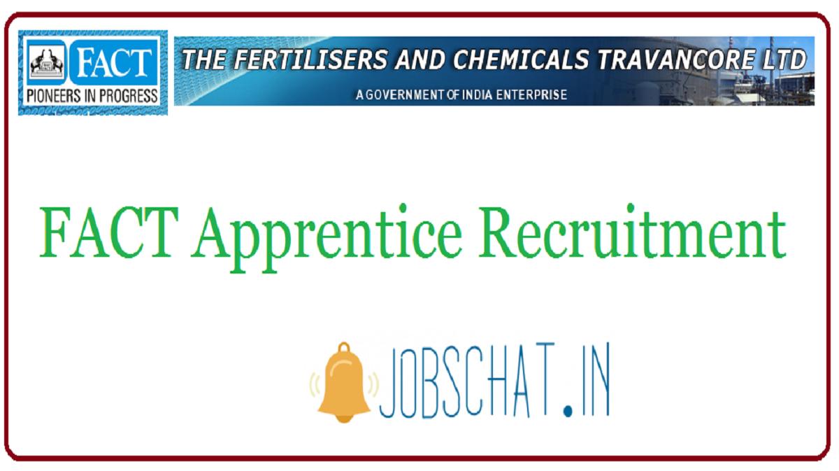 FACT Apprentice Recruitment