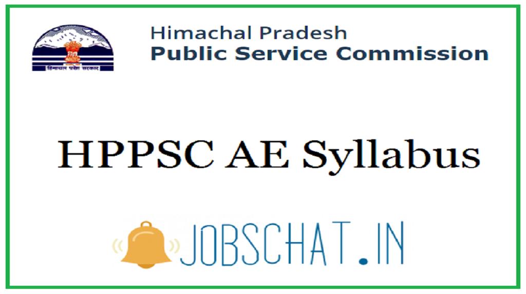 HPPSC AE Syllabus