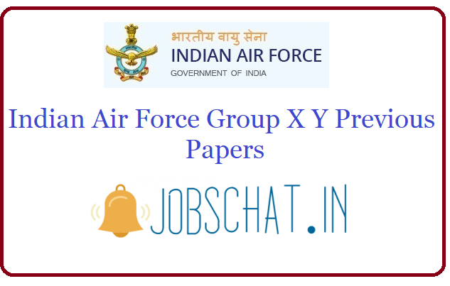 Indian Air Force Group X Y Previous Papers