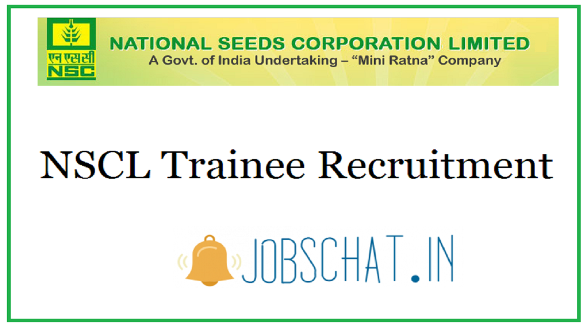 NSCL Trainee Recruitment