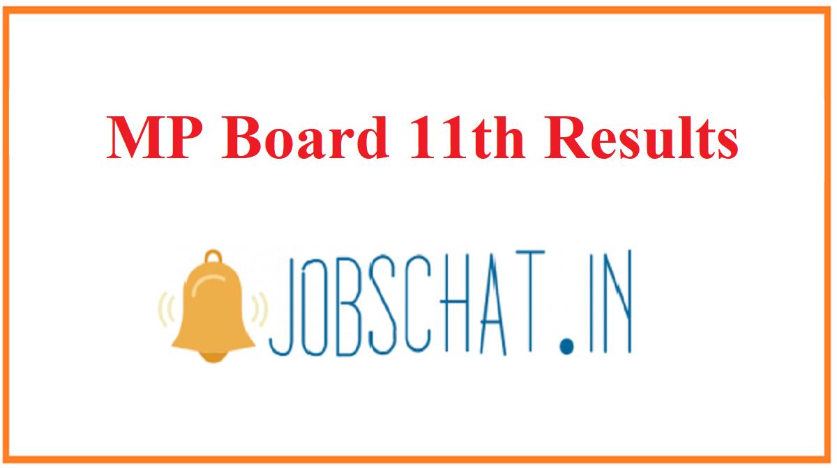 MP Board 11th Results