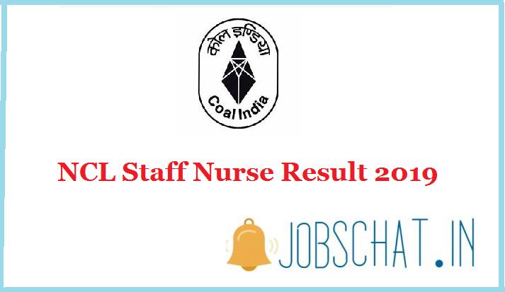 NCL Staff Nurse Result 2019