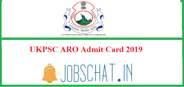 UKPSC ARO Admit Card