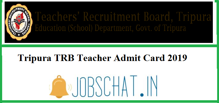 Tripura Teacher Admit Card