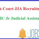 Delhi High Court JJA Recruitment