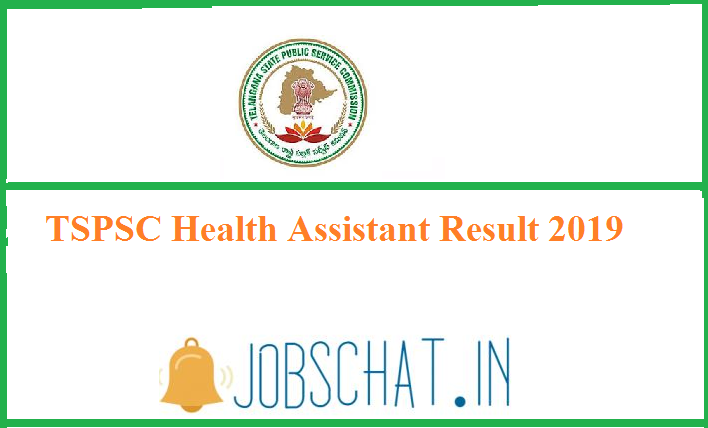 TSPSC Health Assistant Result 2019