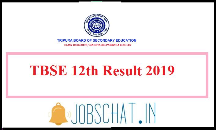 Tripura Board 12th Result 2019