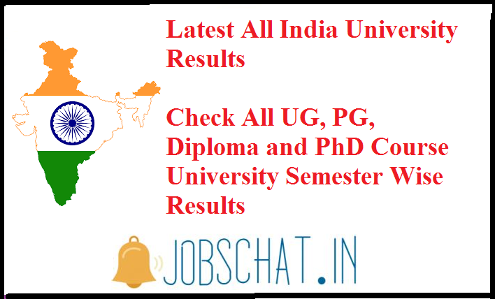 All India University Result || All UG/ PG India University Results
