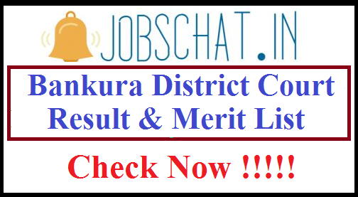 Bankura District Court Result